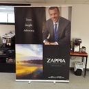 Full color retractable banner display by Envision Graphics Rochester, Ny...