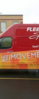 Partial Vehicle, Wrap Vehicle Graphics by Envision Graphics Rochester, NY ...