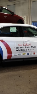 Custom Digital Graphics/Partial Wrap by Envision Graphics, Inc. Rochester, NY...